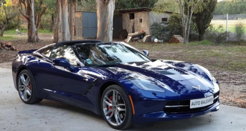 Chevrolet Corvette STINRAY Bleu occasion à Perpignan - photo n°2