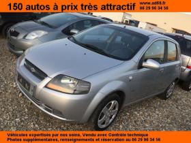 Chevrolet KALOS Gris, garage VOITURE PAS CHERE RHONE ALPES à Saint-Bonnet-de-Mure