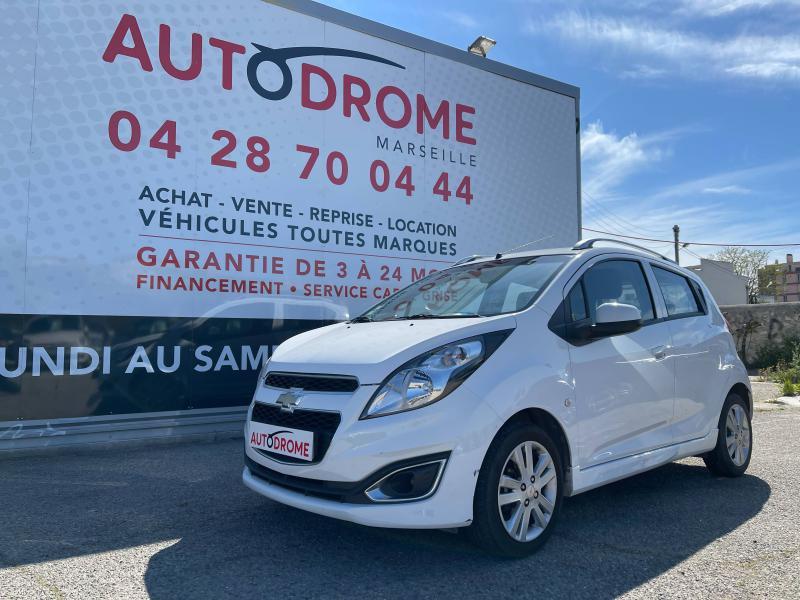Chevrolet Spark 1.2 16v 81Ch LTZ 5p - 66 000 Kms Blanc occasion à Marseille 10