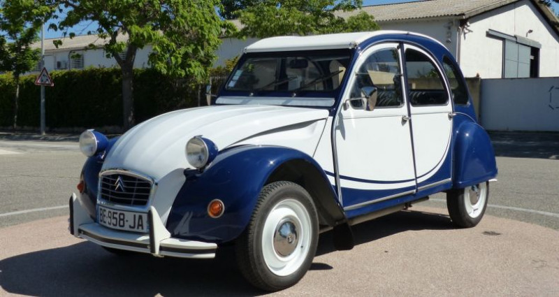 Citroen 2CV 6 SP?CIAL Bleu occasion à Aix En Provence