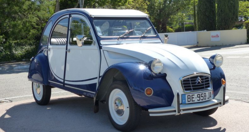 Citroen 2CV 6 SPÉCIAL Bleu occasion à Aix En Provence - photo n°4