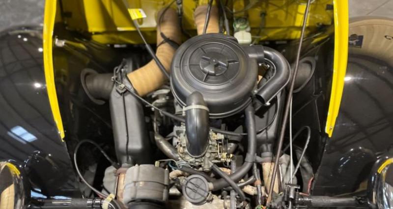 Citroen 2CV Très authentique 2cv6 charleston jaune et noire 1ère main Jaune occasion à LA BOISSE - photo n°6