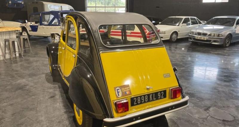 Citroen 2CV Très authentique 2cv6 charleston jaune et noire 1ère main Jaune occasion à LA BOISSE - photo n°3