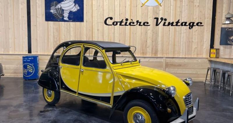 Citroen 2CV Très authentique 2cv6 charleston jaune et noire 1ère main Jaune occasion à LA BOISSE