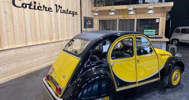 Citroen 2CV Très authentique 2cv6 charleston jaune et noire 1ère main Jaune occasion à LA BOISSE - photo n°5
