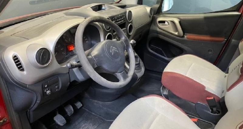 Citroen Berlingo 1.6 HDi 90 CV 130 000 KMS Rouge occasion à COURNON D'AUVERGNE - photo n°7
