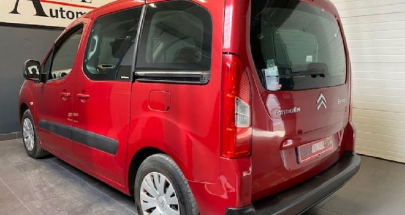 Citroen Berlingo 1.6 HDi 90 CV 130 000 KMS Rouge occasion à COURNON D'AUVERGNE - photo n°6