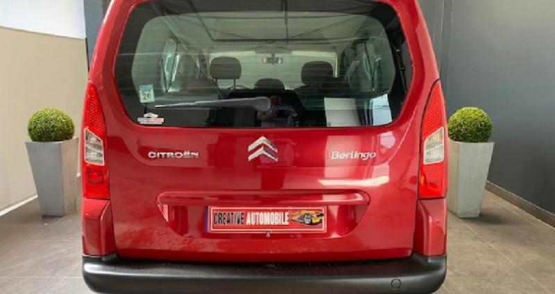 Citroen Berlingo 1.6 HDi 90 CV 130 000 KMS Rouge occasion à COURNON D'AUVERGNE - photo n°4