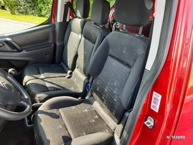 Citroen Berlingo 1.6HDi92 Confort Rouge occasion à Glos - photo n°5