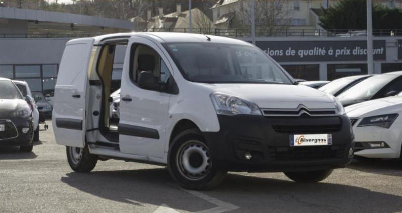 Citroen Berlingo FOURGON II (2) 1.6 BLUEHDI 100 CLUB L1 PRIX TTC Blanc occasion à Chambourcy