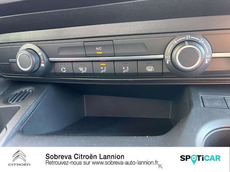 Citroen Berlingo M 650kg BlueHDi 100 S&S Driver Blanc occasion à LANNION - photo n°17