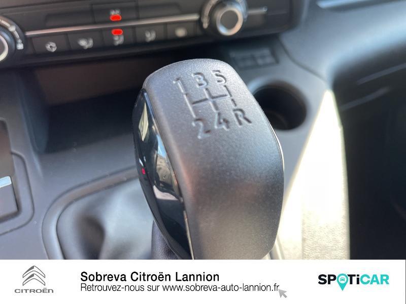 Citroen Berlingo M 650kg BlueHDi 100 S&S Driver Blanc occasion à LANNION - photo n°18