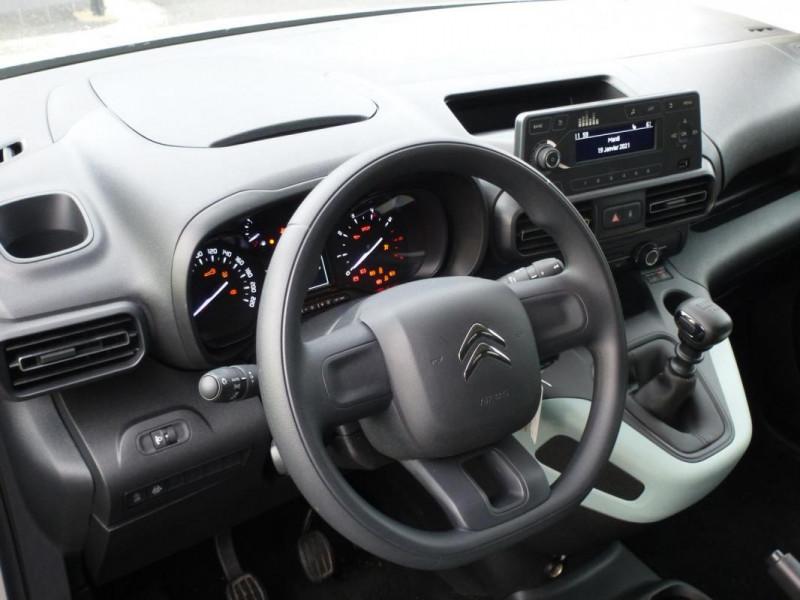 Citroen Berlingo Taille M PureTech 110 S&S BVM6 Beige occasion à ARGENTAN - photo n°6