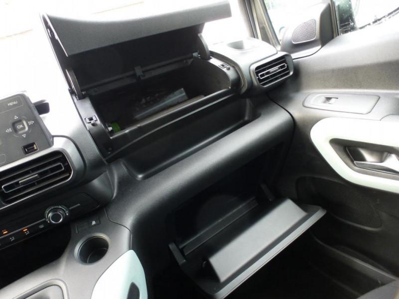 Citroen Berlingo Taille M PureTech 110 S&S BVM6 Beige occasion à ARGENTAN - photo n°15