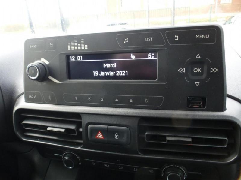 Citroen Berlingo Taille M PureTech 110 S&S BVM6 Beige occasion à ARGENTAN - photo n°12