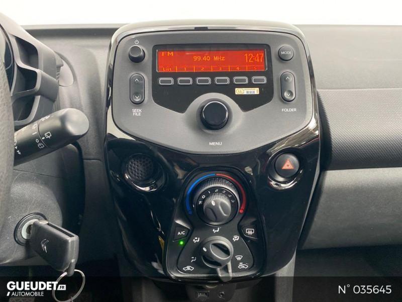 Citroen C1 PureTech 82 Feel 5p Rouge occasion à Abbeville - photo n°11