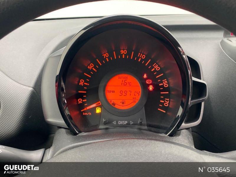 Citroen C1 PureTech 82 Feel 5p Rouge occasion à Abbeville - photo n°12
