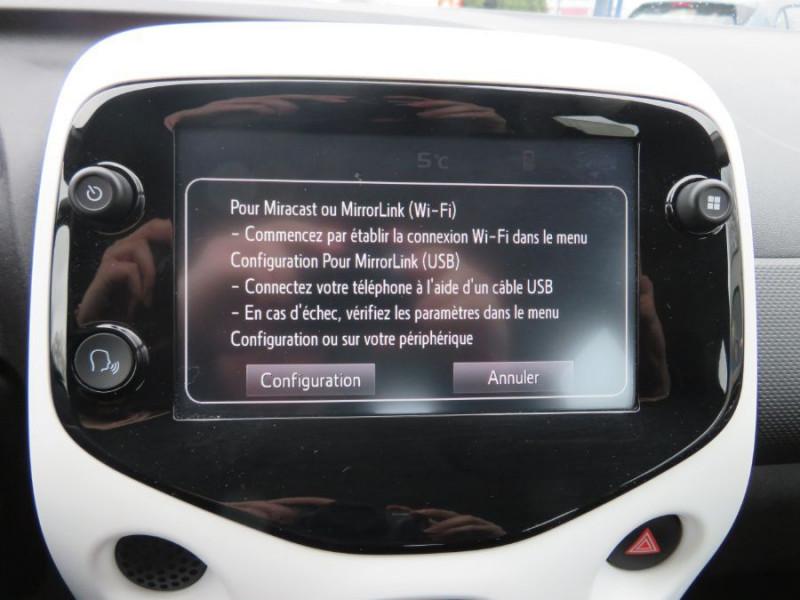 Citroen C1 VTi 72 MILLENIUM GPS Caméra Bluetooth 5P Gris occasion à Carcassonne - photo n°20