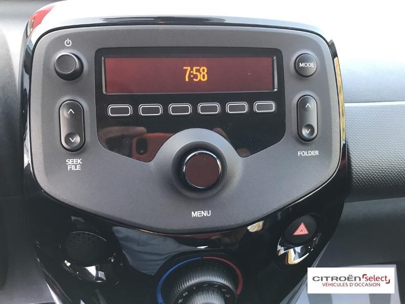 Citroen C1 VTi 72 S&S Feel 5p E6.d-TEMP Rouge occasion à Figeac - photo n°13