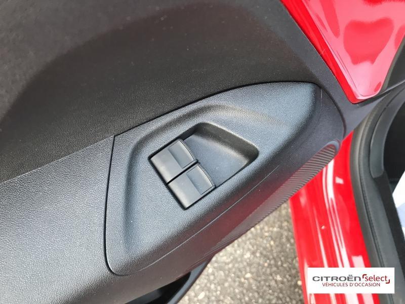 Citroen C1 VTi 72 S&S Feel 5p E6.d-TEMP Rouge occasion à Figeac - photo n°12