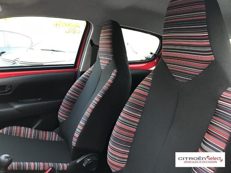 Citroen C1 VTi 72 S&S Feel 5p E6.d-TEMP Rouge occasion à Figeac - photo n°9
