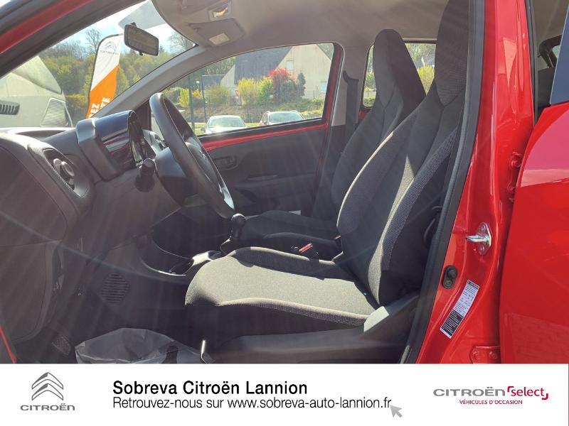 Citroen C1 VTi 72 S&S Live 5p E6.d Rouge occasion à LANNION - photo n°9