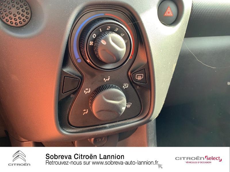 Citroen C1 VTi 72 S&S Live 5p E6.d Rouge occasion à LANNION - photo n°14