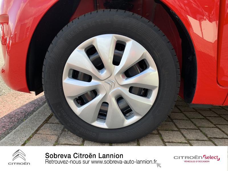 Citroen C1 VTi 72 S&S Live 5p E6.d Rouge occasion à LANNION - photo n°11