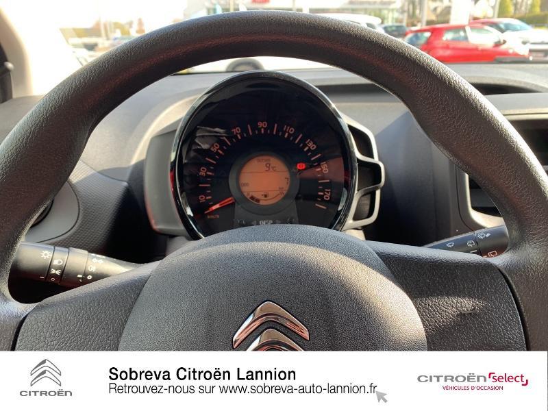 Citroen C1 VTi 72 S&S Live 5p E6.d Rouge occasion à LANNION - photo n°13