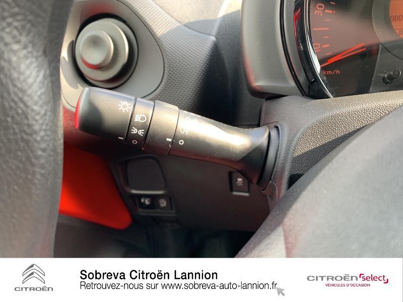 Citroen C1 VTi 72 S&S Live 5p E6.d Rouge occasion à LANNION - photo n°15