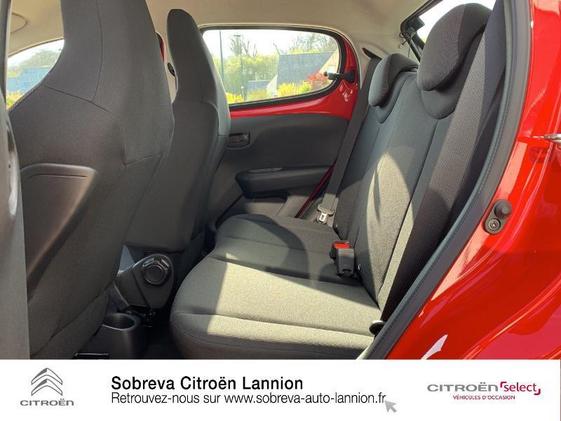 Citroen C1 VTi 72 S&S Live 5p E6.d Rouge occasion à LANNION - photo n°10