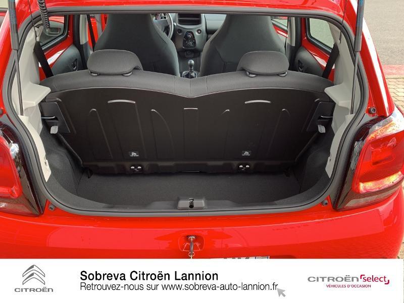 Citroen C1 VTi 72 S&S Live 5p E6.d Rouge occasion à LANNION - photo n°6