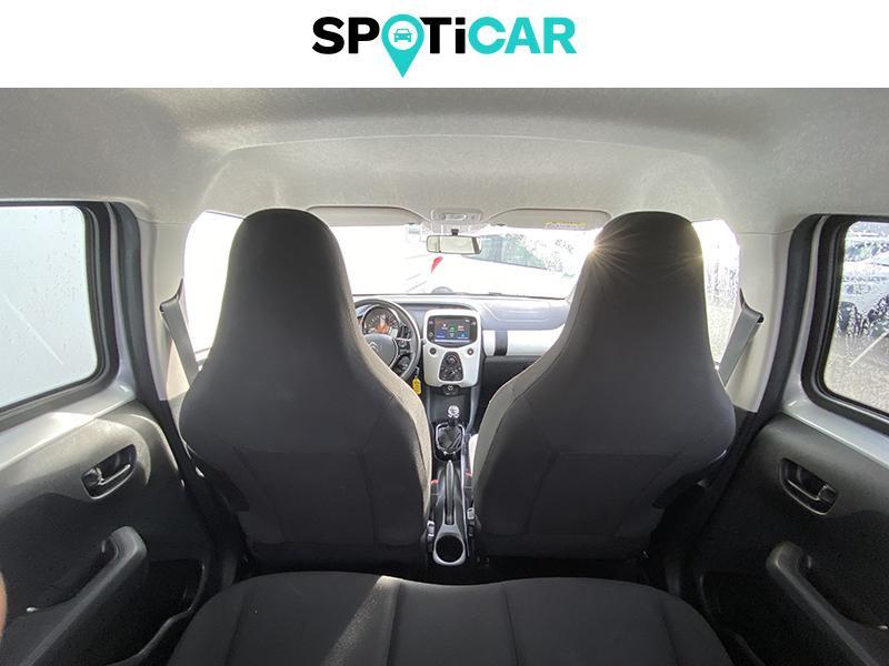 Citroen C1 VTi 72 S&S Urban Ride 5p E6.d-TEMP Gris occasion à Lescar - photo n°17