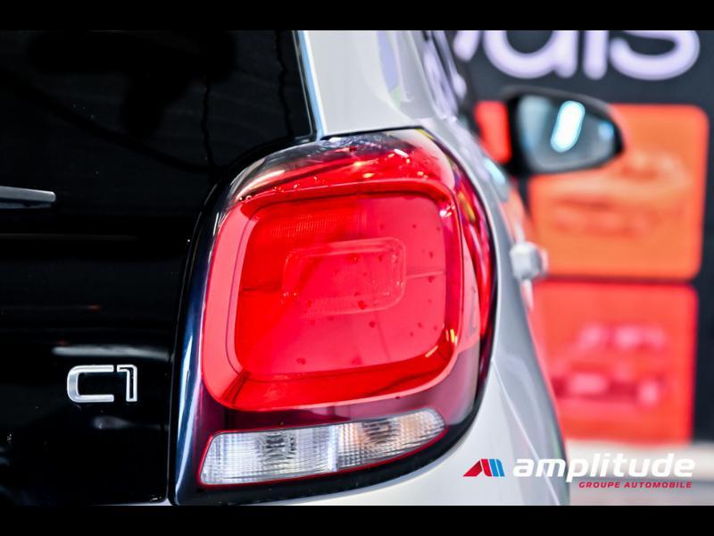 Citroen C1 VTi 72 Shine 5p Gris occasion à Dijon - photo n°8