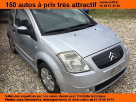 Citroen C2 Gris, garage VOITURE PAS CHERE RHONE ALPES à Saint-Bonnet-de-Mure