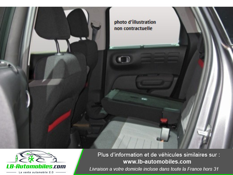 Citroen C3 Aircross BlueHDi 100 S&S BVM6 / Shine Rouge occasion à Beaupuy - photo n°5