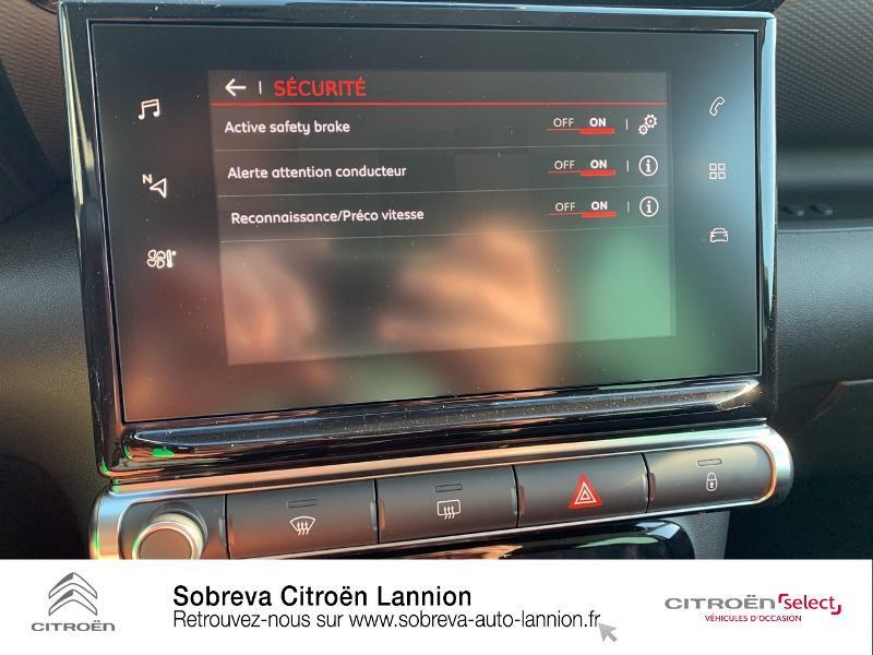 Citroen C3 Aircross BlueHDi 110ch S&S Shine Gris occasion à LANNION - photo n°18