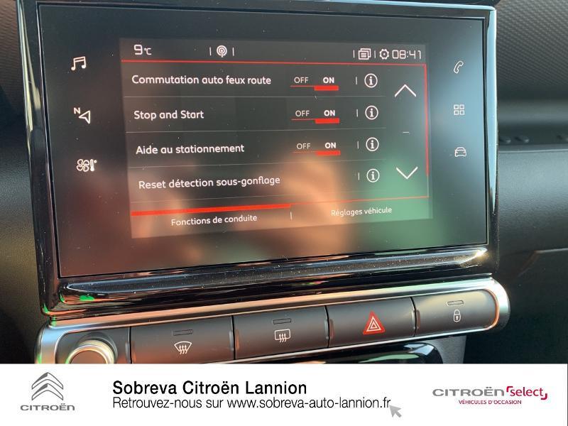 Citroen C3 Aircross BlueHDi 110ch S&S Shine Gris occasion à LANNION - photo n°17