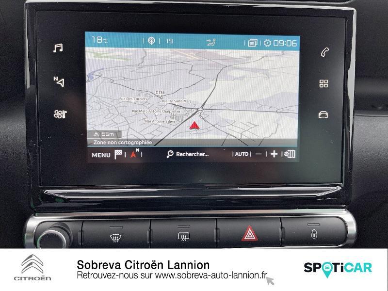 Citroen C3 Aircross BlueHDi 110ch S&S Shine Gris occasion à LANNION - photo n°12