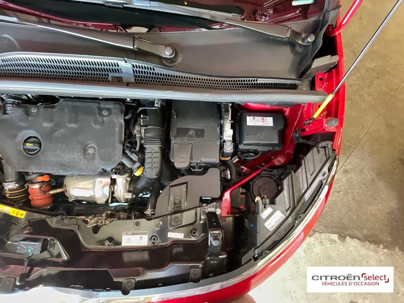 Citroen C3 Aircross BlueHDi 120ch S&S Shine Business EAT6 E6.d 132g Rouge occasion à Figeac - photo n°14