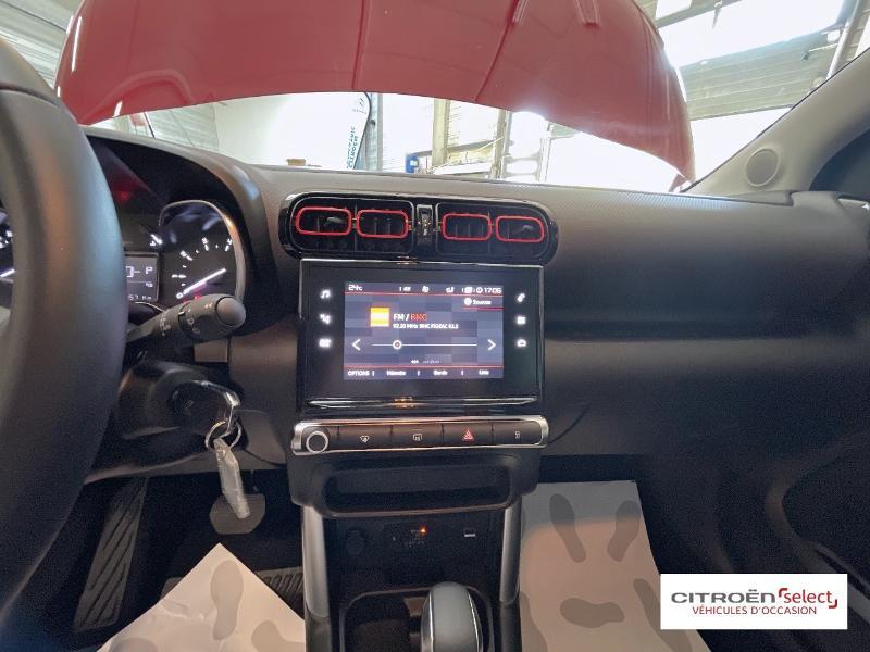 Citroen C3 Aircross BlueHDi 120ch S&S Shine Business EAT6 E6.d 132g Rouge occasion à Figeac - photo n°13