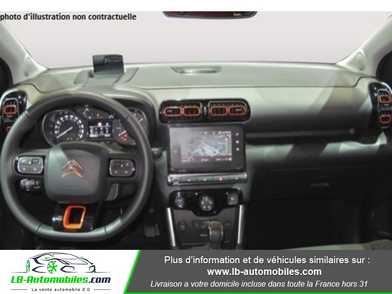 Citroen C3 Aircross PureTech 110 S&S BVM6 / Feel Rouge occasion à Beaupuy - photo n°2