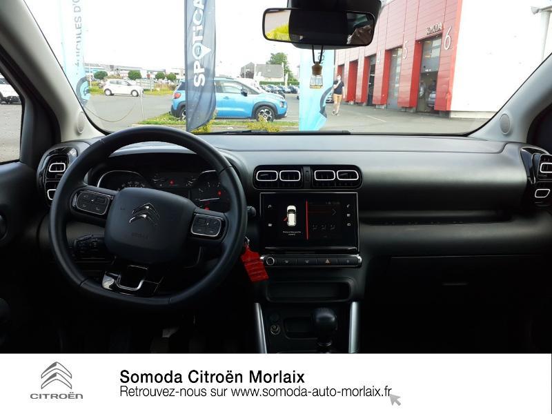 Citroen C3 Aircross PureTech 110ch S&S Feel E6.d Gris occasion à MORLAIX - photo n°8