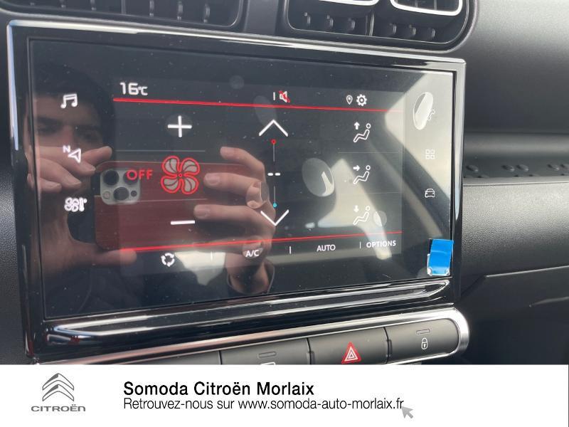 Citroen C3 Aircross PureTech 110ch S&S Feel Pack Sable occasion à MORLAIX - photo n°15