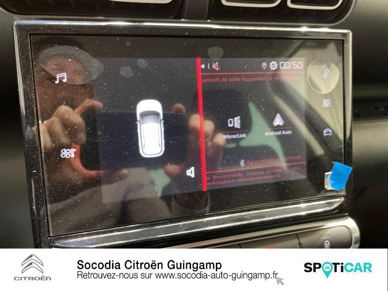 Citroen C3 Aircross PureTech 110ch S&S Feel Pack Gris occasion à GUINGAMP - photo n°14