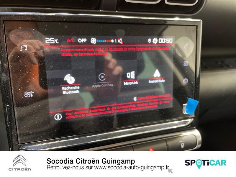 Citroen C3 Aircross PureTech 110ch S&S Feel Pack Gris occasion à GUINGAMP - photo n°13