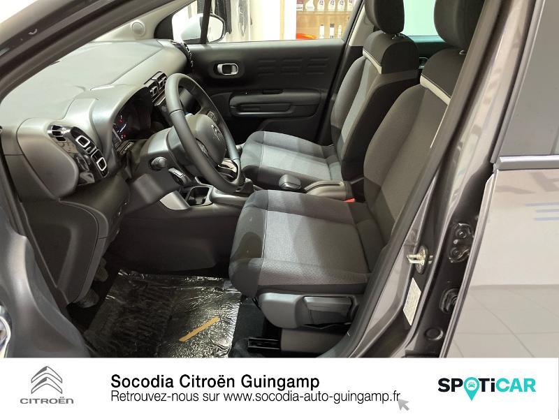 Citroen C3 Aircross PureTech 110ch S&S Feel Pack Gris occasion à GUINGAMP - photo n°9