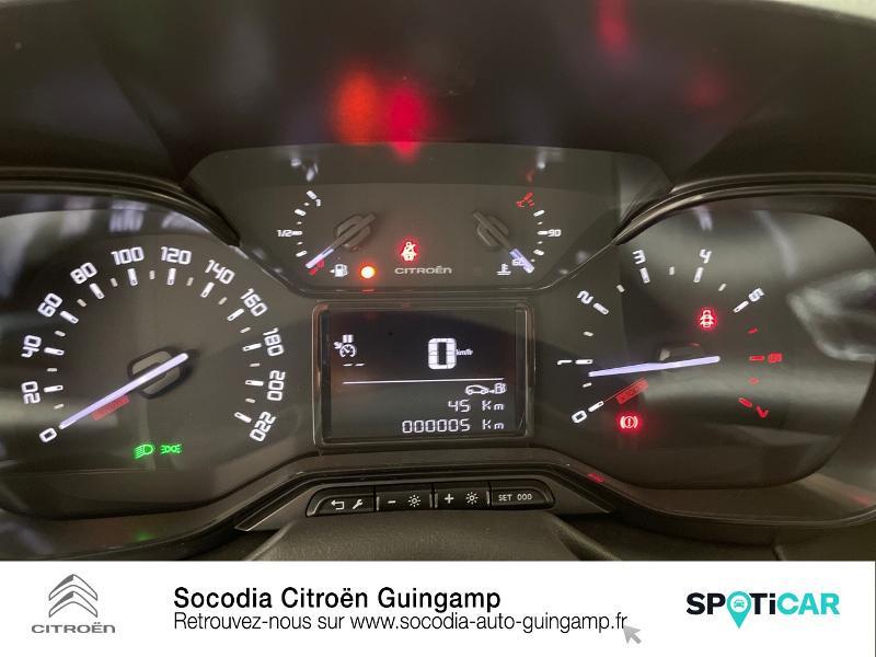 Citroen C3 Aircross PureTech 110ch S&S Feel Pack Gris occasion à GUINGAMP - photo n°12