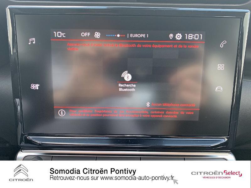 Citroen C3 Aircross PureTech 110ch S&S Feel Gris occasion à PONTIVY - photo n°15