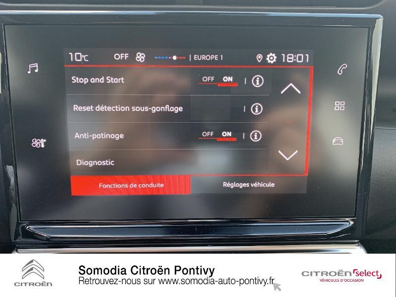 Citroen C3 Aircross PureTech 110ch S&S Feel Gris occasion à PONTIVY - photo n°16
